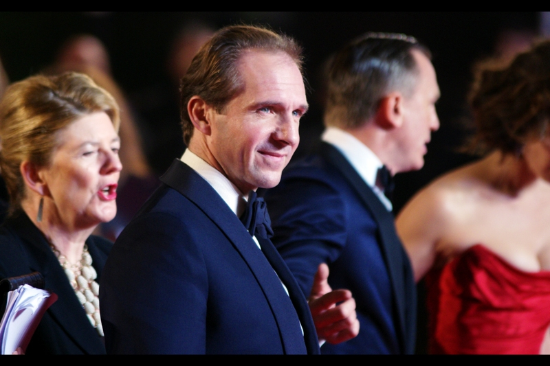 "Ralph Fiennes says : ""Daniel. Point at this guy for me"". Damnit, I so want to hire Daniel Craig to point at things for me."