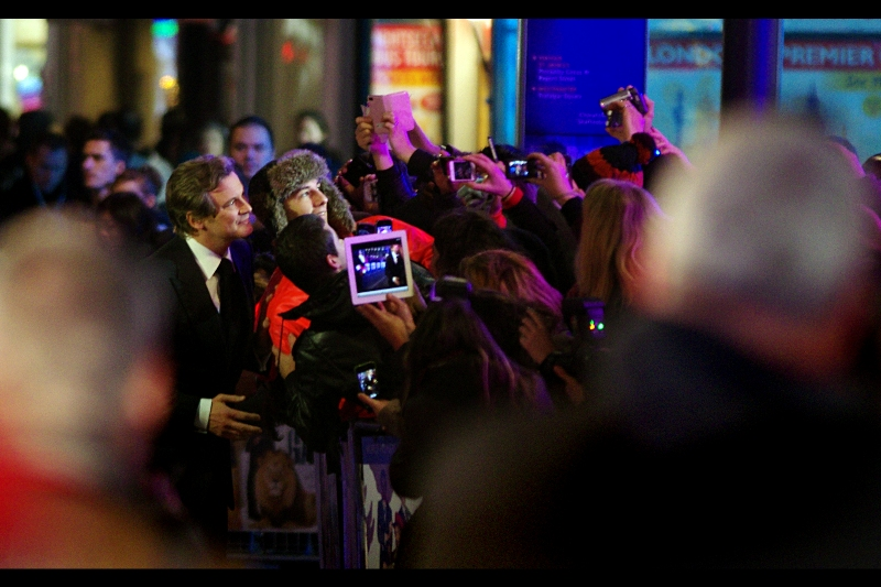 """You're taking a photo of me on an iPad? How droll and common"" For the Twilight premiere, I'm planning to ditch my DSLR and take photos on my laptop's webcam...."