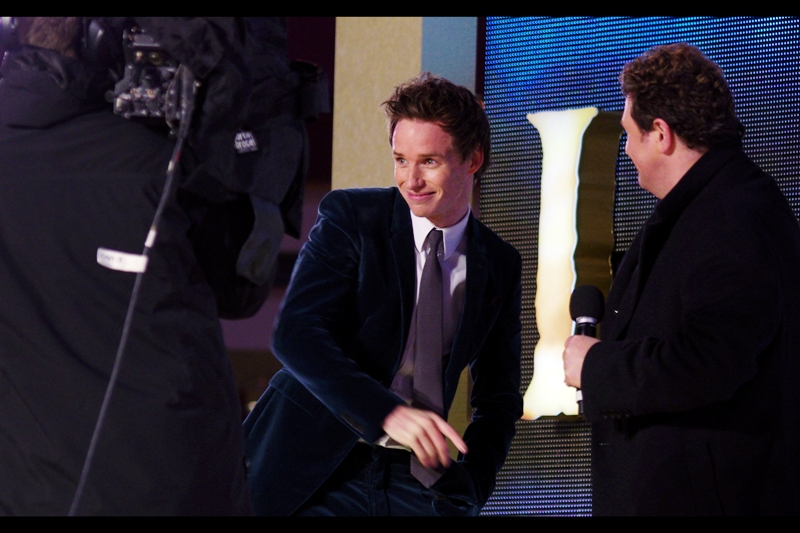 "I last photographed Eddie Redmayne at  the premiere of ""My Week With Marylin""  but everyone keeps going on about how great he is/was in ""Pillars of the Earth"". Okay... but I kinda want to start watching The Walking Dead before I commit to more TV Series...."