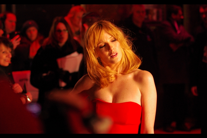 Kelly Reilly briefly channels Scarlett Johansson for exactly one (1) frame. Better her doing it than Denzel, anyway.