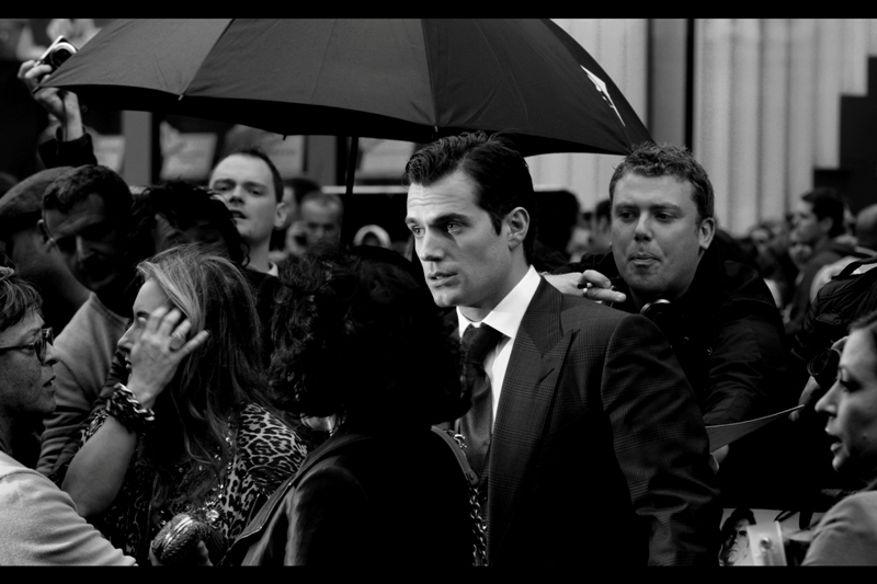 "One more of Cavill. According to IMDB Man of Steel is only his FOURTH most well known role... Really? I call this photo ""Bruce Wayne may be Richer..."""