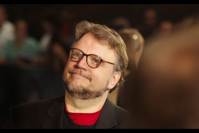 This is director Guillermo Del Toro, a man who will (hopefully) not judge me for saying that the best thing about Hellboy2 is that it made my apartment cleaner .... when I got up and started cleaning my apartment rather than keep watching