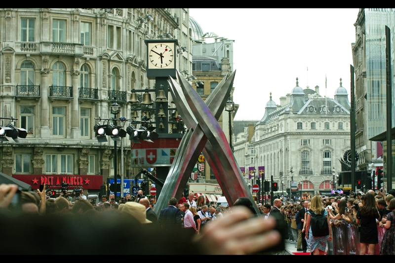 If somebody puts a giant metallic and spiked sculpture blocking pedestrian throughtraffic in Leicester Square and justifies it on the basis of 'Art', I'm pretty fine with that. But if it's for another standalone Wolverine sequel then that concerns me infinitely more.