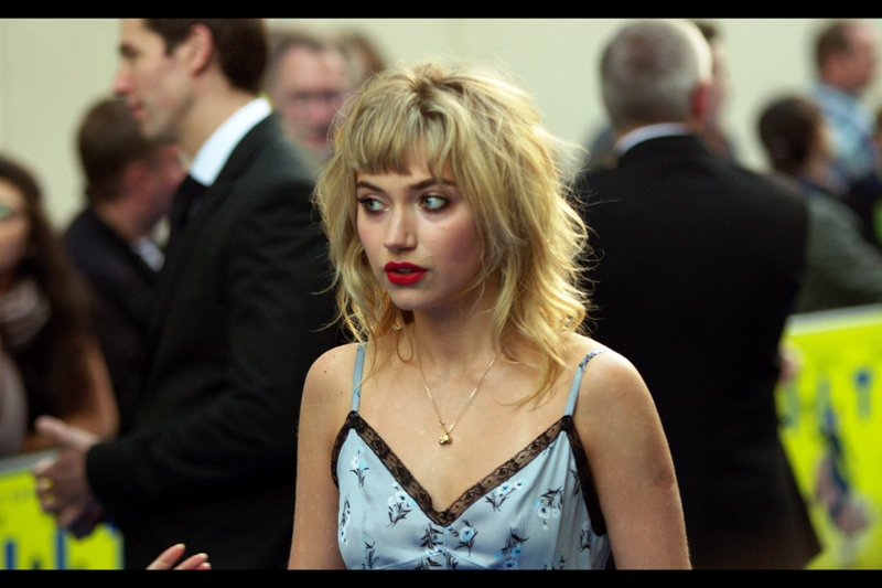 Wow. Imogen Poots was in V for Vendetta! That's totally one of my favourite films ever, and it's almost coming up to November. Time to dust off that DVD / Bluray.