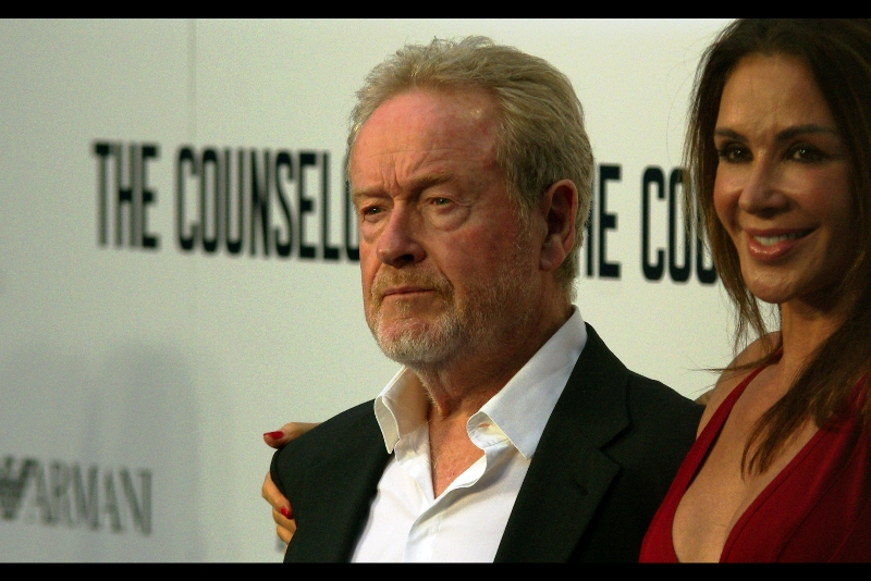 "Sir Ridley Scott has cast his partner in every movie he's directed since ""Gladiator"" in 2000. I'm going to have to watch all those movies again to see if I can spot her. (Seriously? She was even in Black Hawk Down??)"