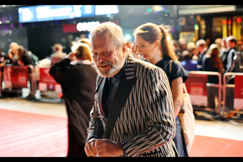 Good news for fans of Dexter Fletcher, Terry Gilliam and hopefully John Hurt. They seem to all get invites to every London Film Fetival event, even the ones they're not involved in. I'm especially excited because I rarely get to photograph Terry Gilliam without a dishtowel cape.