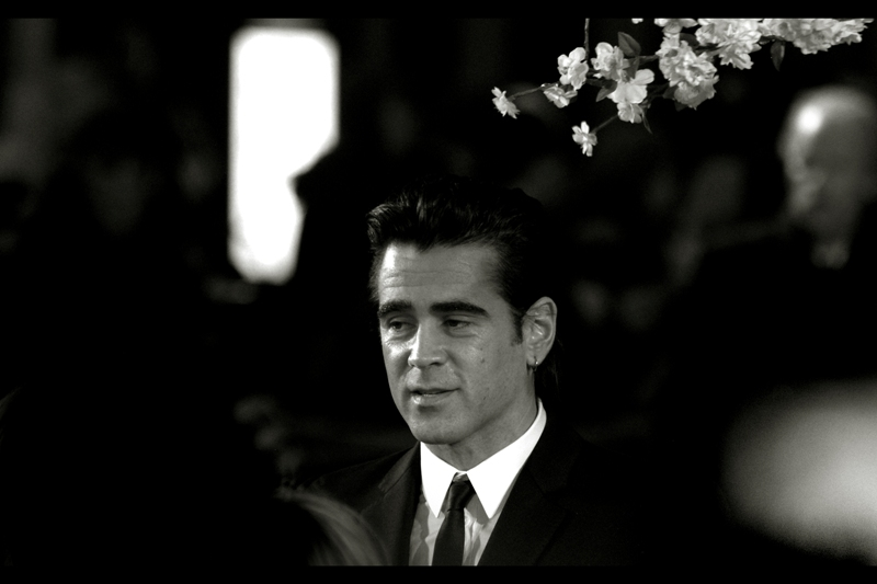 Colin Farrell isn't nearly as drunk and disorderly as he once was. Now he wears a tie and everything.