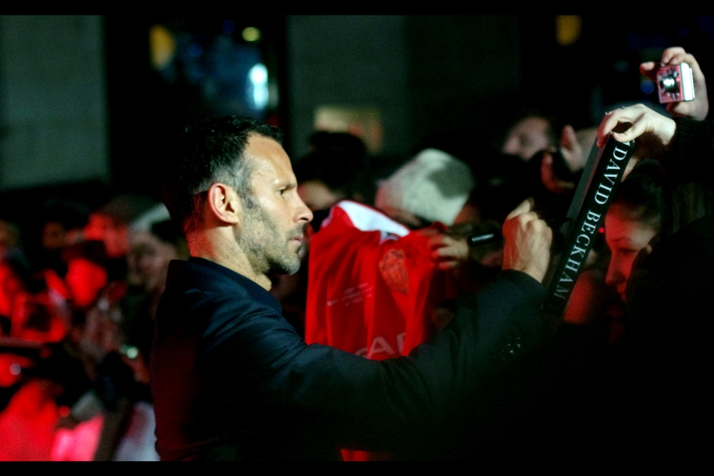 """You realise I'm not....? Oh, you don't care. Very well, then""  Ryan Giggs acquiesces."