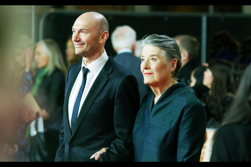 Jonathan Teplitzky shows up looking like the younger Picard Clone that Star Trek Insurrection really could have used. He's the director of this film, and the lady to his left is the widow of the man who wrote the autobiographical book upon which the film is based.