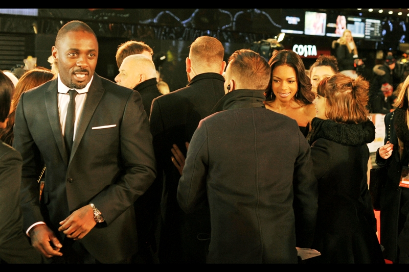 Idris Elba and Naomie Harris play Nelson and Winnie Mandela in the film - the screenwriter and producer actually said that they were casting for 'character' more than look for the film, actors who'd portray the characters not merely look like them. I think that's a fantastic philosophy, and that's why I think First Capital Connect is an abysmal rail company. Just because they have a soothing corporate pink and purple logo/design that makes them look competent, doesn't mean they are.