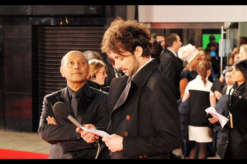 This is producer Anant Singh, waiting for host Alex Zane to run down the list of producers much like I just did and start to eliminate improbables, I guess.