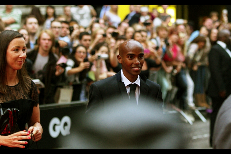 It's Mo Farah!! Known for dual 5000m and 10000m gold medals at this year's Olympics. (WOO!). Inspirational? Not really... apparently (refer : Bradley Wiggins' sideburns)