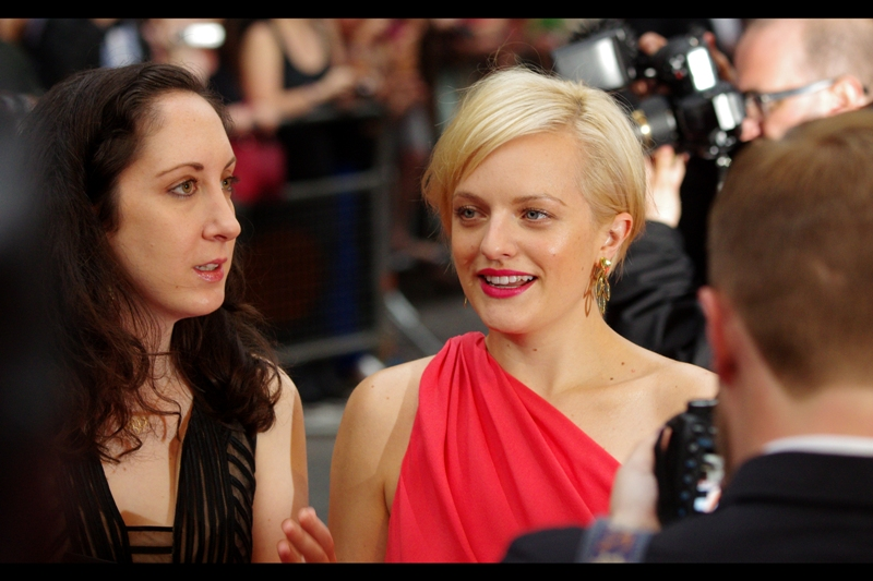 Lady from Mad Men! (later identified as Elisabeth Moss). Known for : ... Mad Men!