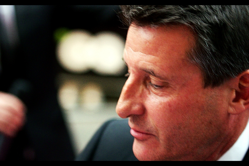 Lord Sebastian Coe! Known for : Dual Olympic 1500m Gold medals (1980, 1984), spearheading the London 2012 bid and the games themselves. Outstanding achievement award for tireless work on the biggest event in London this year? No. Just guest. Also known for : straying FAR too close to my lens.