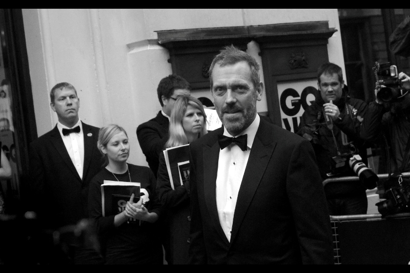 "If you're only going to post one photo of ""House""s Hugh Laurie, I say make it one where he's looking at you kind of funnily. (This was the second-funniest)"