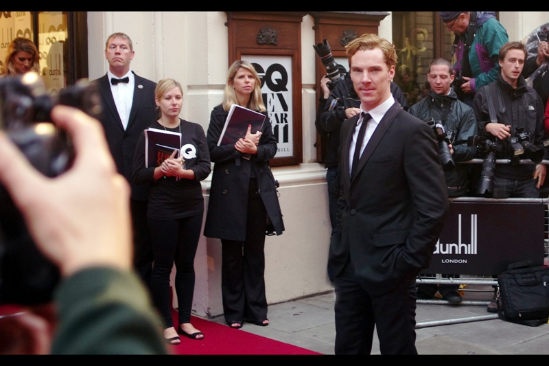 Believe if or not, but there was a time (eg. back in 2011) when I hadn't heard of Benedict Cumberbatch. More fool me. Still... just because I didn't know who he was didn't mean I wasn't going to photograph him.