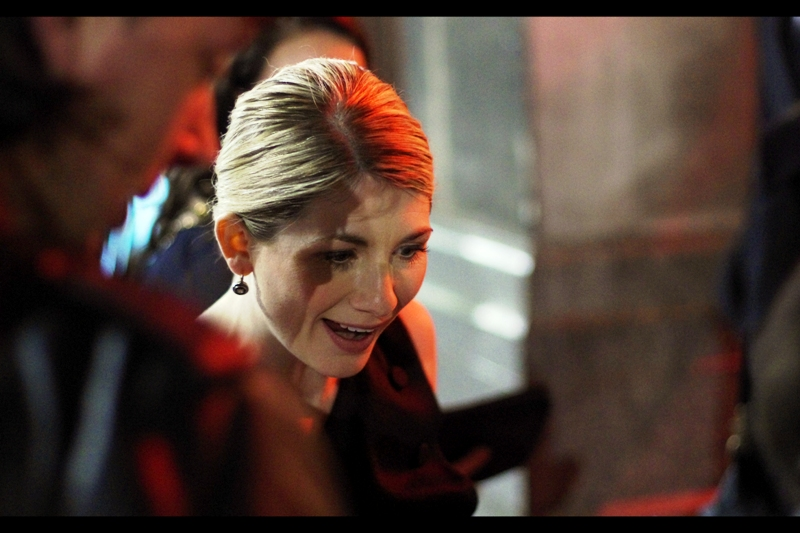 "Actress Jodie Whittaker was in ""Attack The Block"" in 2011. That's as much research as I'm willing to do at this stage. I have watched the movei : I liked it!"