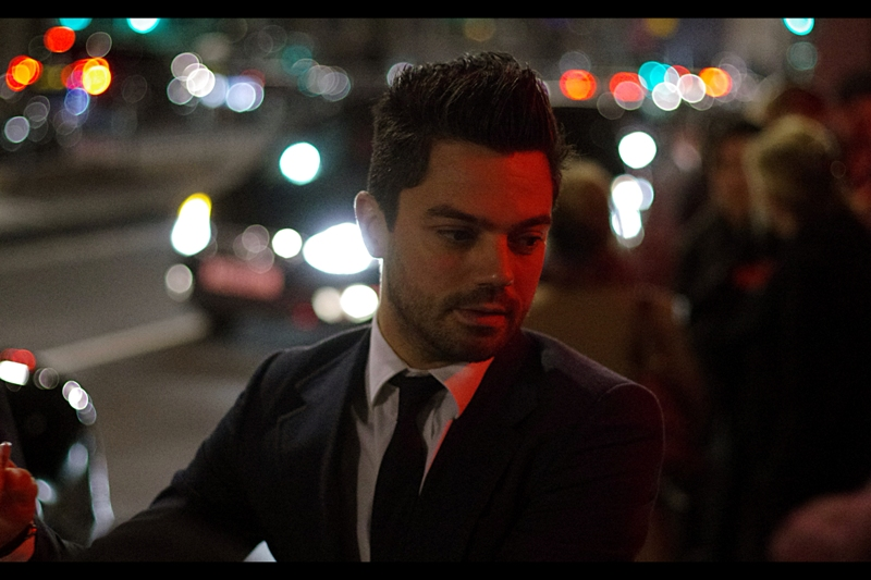 Dominic Cooper gets Grain AND Focus Assist Lamp Light from my camera. I'm pulling out all the stops here.