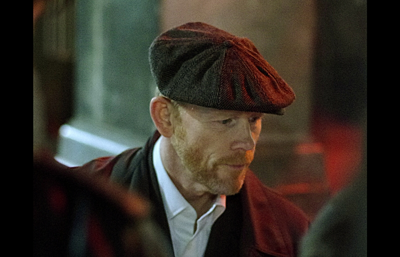 The calibre of attendee has just skyrocketed massively with the arrival of director Ron Howard! (I raise the grain factor on the camera even further in wild celebration!)