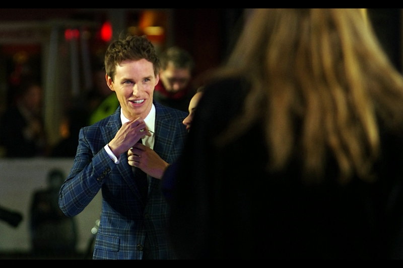 """I know the suit is awesome.. that's why I'm making sure the tie works with it"" Eddie Redmayne is best known for being in "" My Week With Marilyn (2011) "" and "" Les Miserables (2012) """