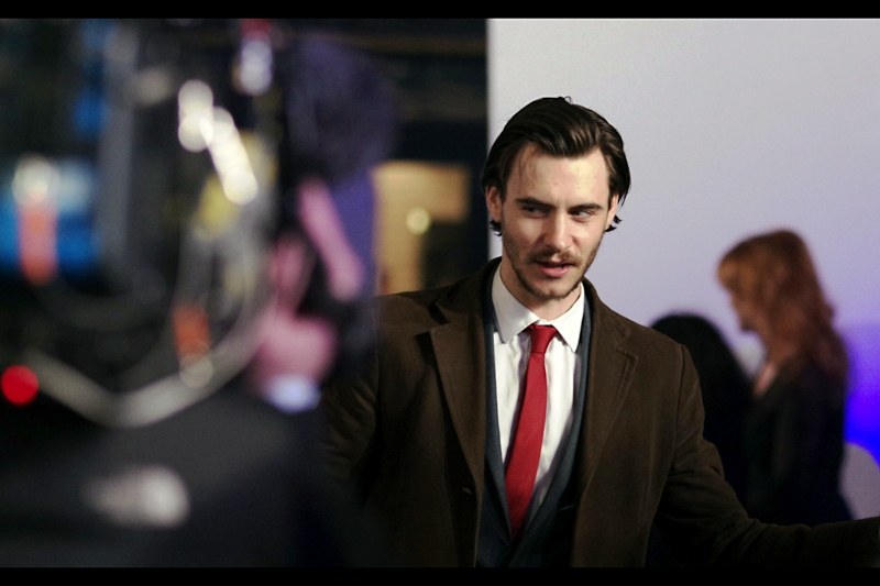 """Don't talk to me about Dragons"" A late-ish arrival, Harry Lloyd - who is apparently best known in imdb for things OTHER THAN playing Viserys Targaryen on Game of Thrones."
