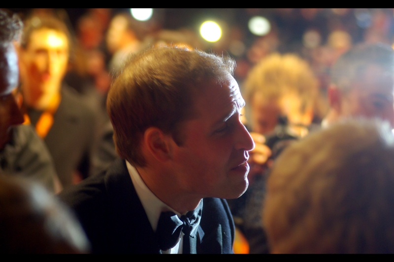 HRH Prince William. It's such an odd backlit silhouette I kind of can't not include this photo in the collection. It's a portrait silhouette I'm looking forward to seeing on the backs of Commonwealth Coins one day, perhaps.