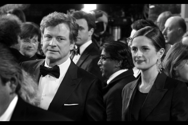 Colin Firth was dapper on the red carpet and gentlemanly during the ceremony. I last photographed him at Tinker Tailor Soldier Spy as well.