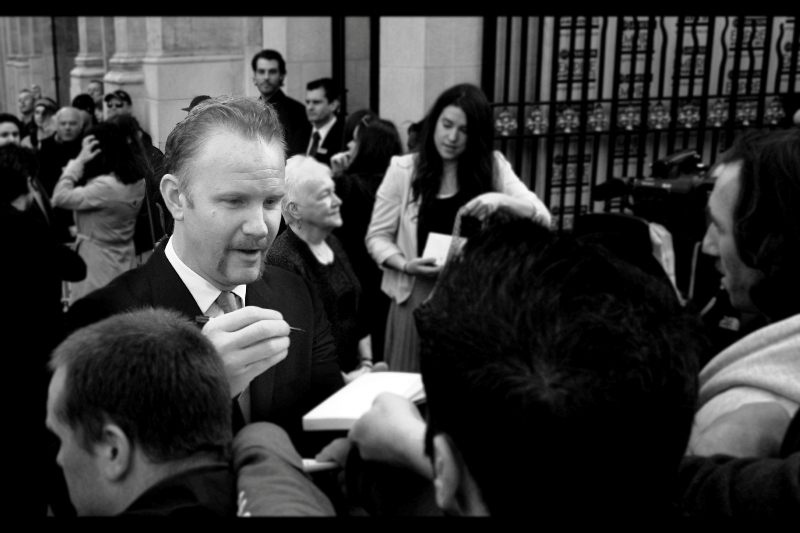 "It's Morgan Spurlock (Yes, I've watched his documentary ""Super-Size Me"" – it stopped me eating at McDonald's for about two days. Over subsequent years, I've slowly reduced my intake)"