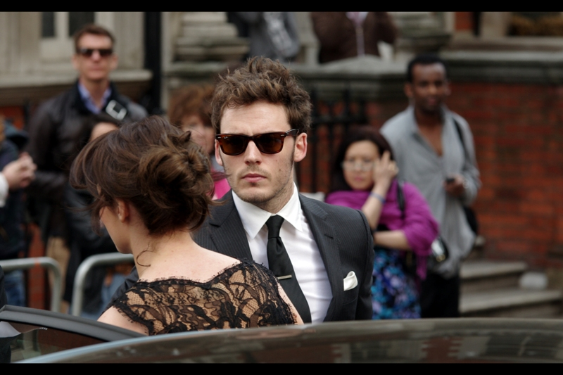 Sam Claflin is at the very least this // cool. At LEAST.