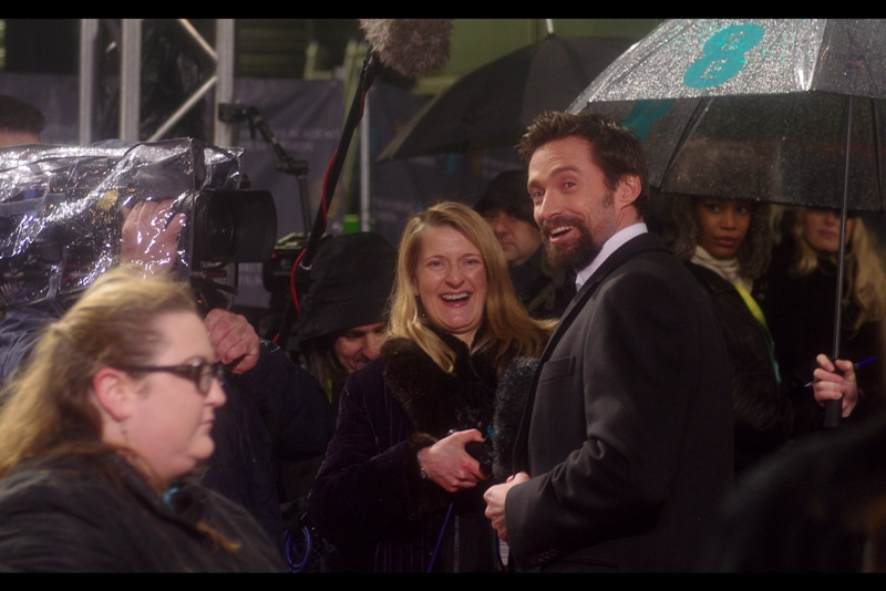 Ever since the Les Miserables premiere I feel my (possibly one-sided) bloodfeud with Hugh Jackman has more or less been resolved and we're generally on 'acknowledgement' terms. Either that or it's a strategy he's laying down to catch me off my guard.