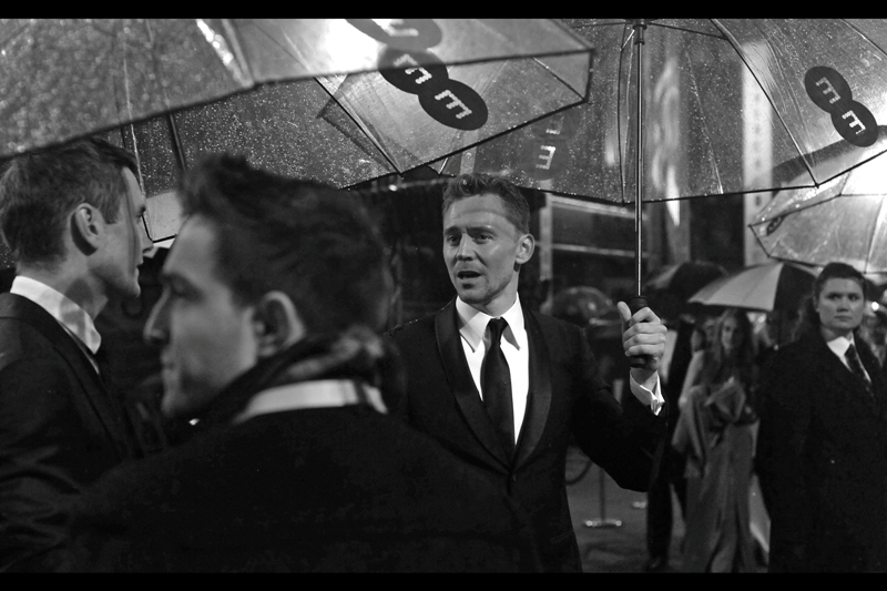 Meanwhile, Tom Hiddleston has arrived. That is all.