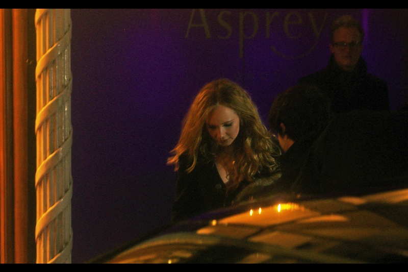 Juno Temple, who won the 'Rising Star' award the following day.