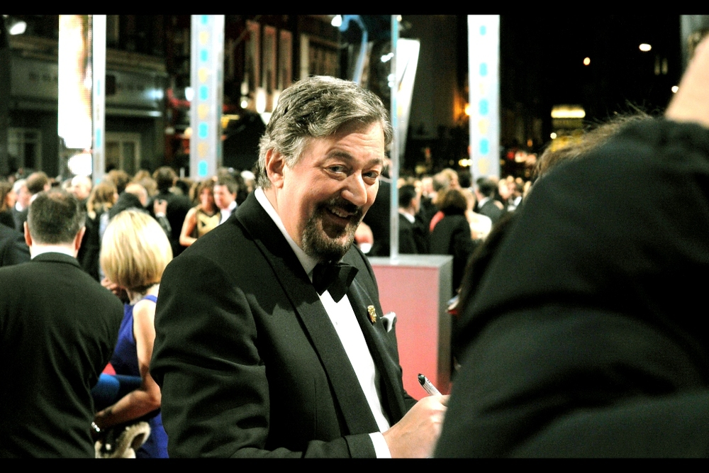 The host of the BAFTAs, Stephen Fry, hosted the event from 2001-2006 and also 2013. Frankly, I think he should be appointed the job for life… mostly to ensure he doesn't step down ever again. You know all those cringe-worthy award hosts you get at these sorts of events? He's not one of them.