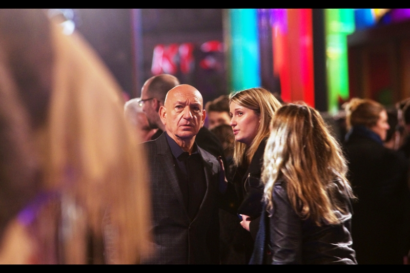 "I photographed Sir Ben Kingsley as little as two premieres ago at "" Exodus : Gods and Kings"" .. and since I'm very tired and this journal is already looking a bit on the long side, I might skip further photos of him in favour of (inevitably) the pretty Alice Eve."