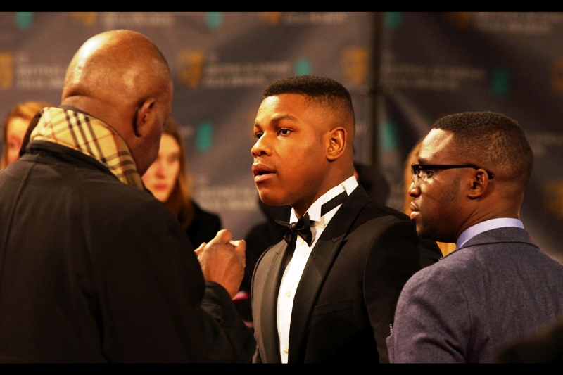 John Boyega is set to be in the upcoming Star Wars Episode VII, a movie I steadfastly maintain I have no faith in the possibility of being any good. But if it means a new John Williams score, then that's great.