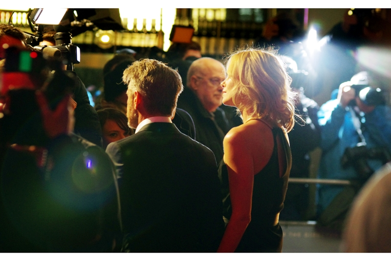 While Sean Penn goes on and on and on about Haiti or Polar Bears or something; my camera and I are working to make the already beautiful Charlize Theron look even more beautiful, harnessing every stray lensflare we can find. Because it's not all about YOU, Sean Penn.