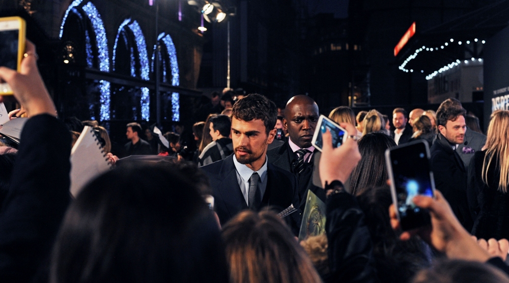 Good news for fans of high-pitched screaming and tears, our heroes have arrived, and one of them is Theo James.