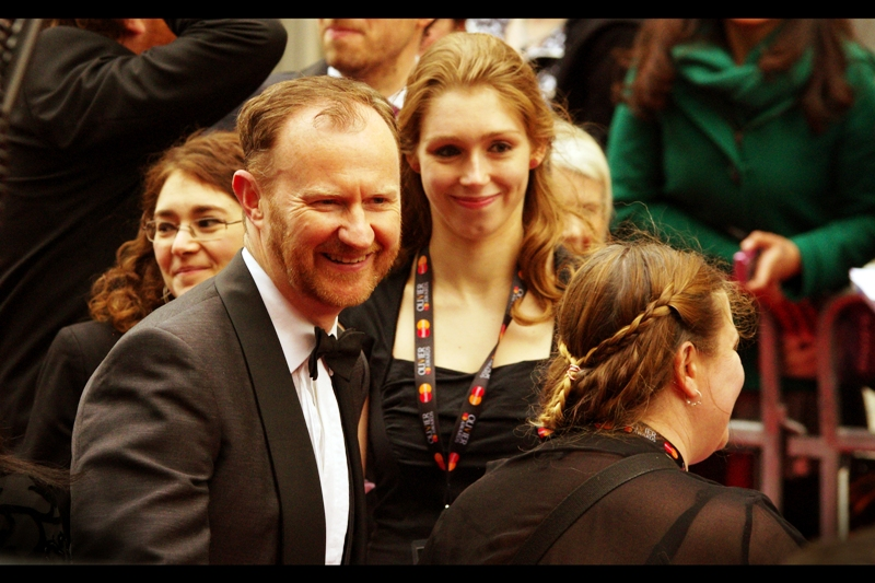 "The spot I'm standing in/on has been partially taken over by people more willing to risk 3m drops onto netting covering a further one-storey drop, so they're not ""my people"". This leaves me unable to share my excitement at recognising this gentleman : the rather awesome writer / actor Mark Gatiss, best known for Doctor Who, and Sherlock (which he's co-creator of, and stars as Sherlock's brother Mycroft in)"