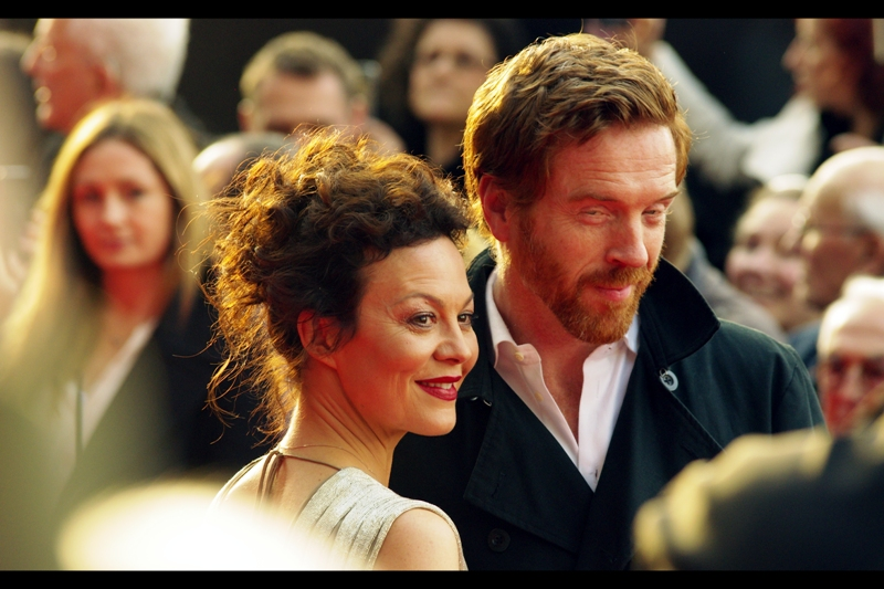"Helen McCrory is best known for playing an MP who grills Judi Dench's M in the James Bond film 'Skyfall', but I think imdb.com is wrong as to me she'll always be best known for playing Draco's Mum Narcissa Malfoy in the Harry Potter films. Her husband Damian Lewis is also an actor, best known for sly sideways glances and being in the series ""Homeland"""