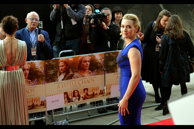 "In both my fevered and over-optimistic imagination and with some photographic evidence to back my dubious claim, Kate Winslet and I have had ""A Thing"" for several years now, which covers a magical moment at the Premiere of Revolutionary Road, her objectifying me (with consent) at the2010  Baftas, us reconciling after a long absence at the world premiere of Titanic in 3D, in 2012, and reconnecting at last year's Divergent premiere. I think I'm going to have to make A Move one of these days... patience seems overrated in the face of all this evidence."