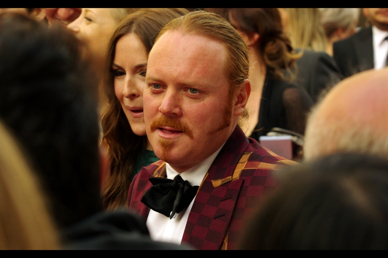 This is Leigh Francis. I know who he is because he's Keith Lemon, and  there was a Keith Lemon movie that I was at the premiere of  (Jedward attended... does anyone still remember Jedward?). Much as I find him generally unfunny, his sideburns are making a serious play for Supervillain status, and I respect that.