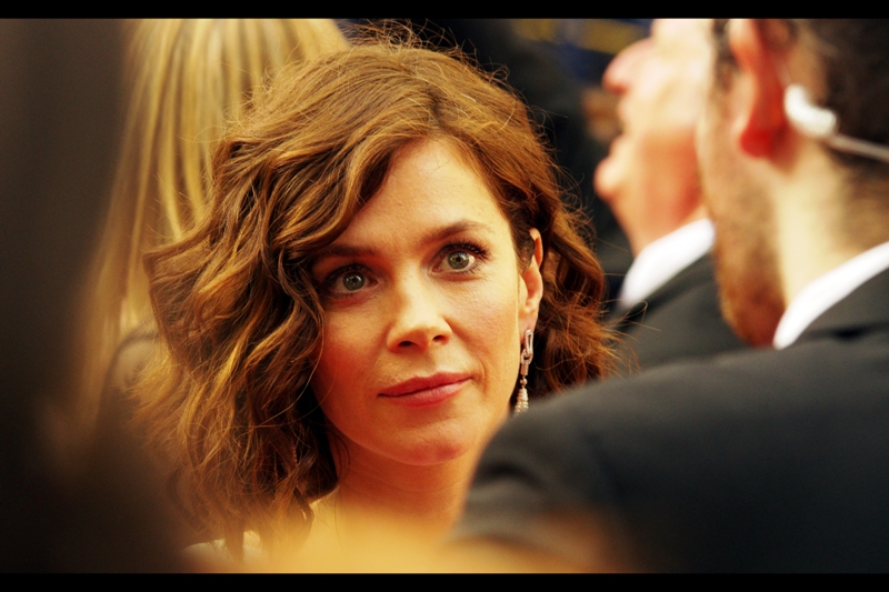I don't think I've ever photographed somebody with more reflective eyes than her. Alternatively, for the first time in about a hundred premieres, the Pentax camera I'm using Hit Focus properly (You'll have to forgive me... I'm not great with compliments)