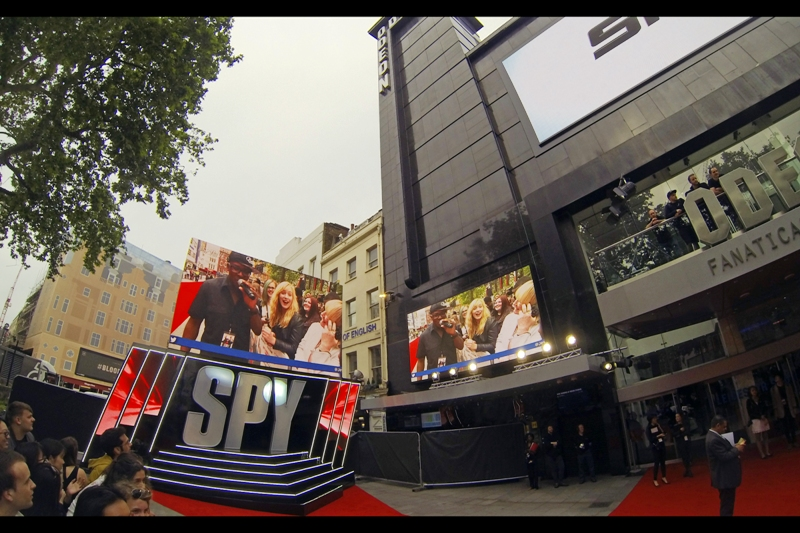 "The movie is called simply  ""SPY"" , which I'm guessing years from now is going to have to be called ""Spy (2015)"" because everyone will wonder why nobody used that as a movie title before."