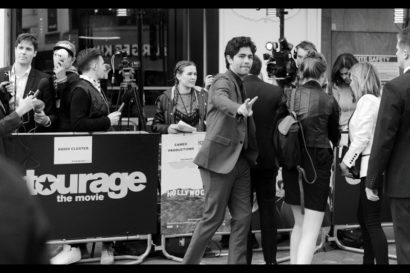 "It's Vincent Chase!!!   Or, if you believe that the world of Entourage is not real, and that James Cameron did NOT direct the record-breaking ""Aquaman"" movie, it's actor Adrian Grenier."