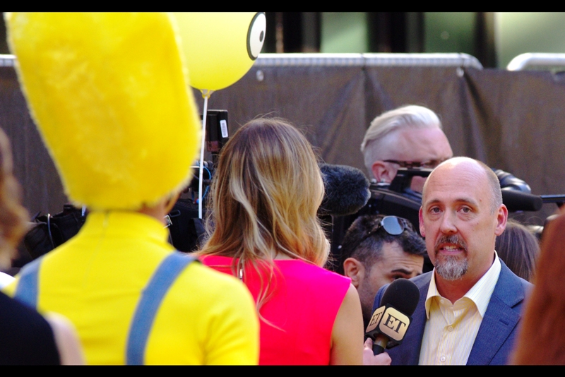Meanwhile, if this is Chris Renaud, he's not only a famed producer (and director of the two Despicable Me films), but also the voice of all the Minions in the film that AREN'T Bob, Kevin or Stuart. Which... I'm not sure how many that is...