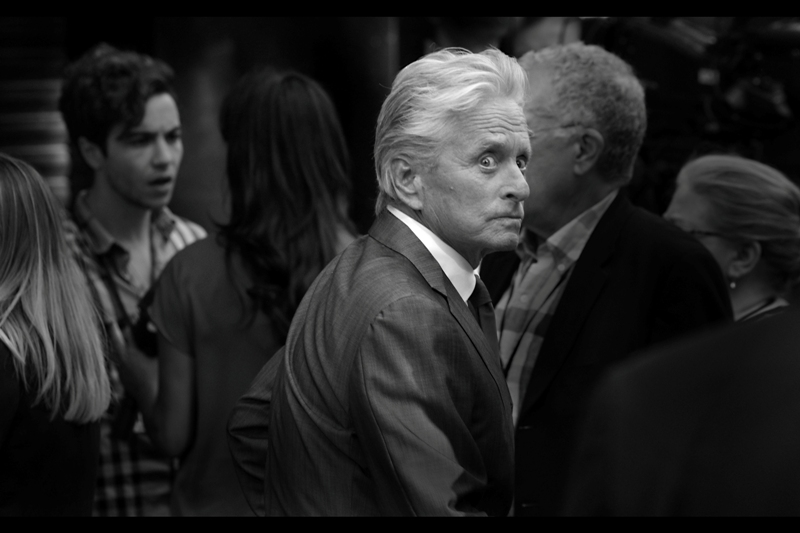 """He's trying to make a what into a What now?"" Michael Douglas' shock is not insignific...ANT (you're welcome!)"