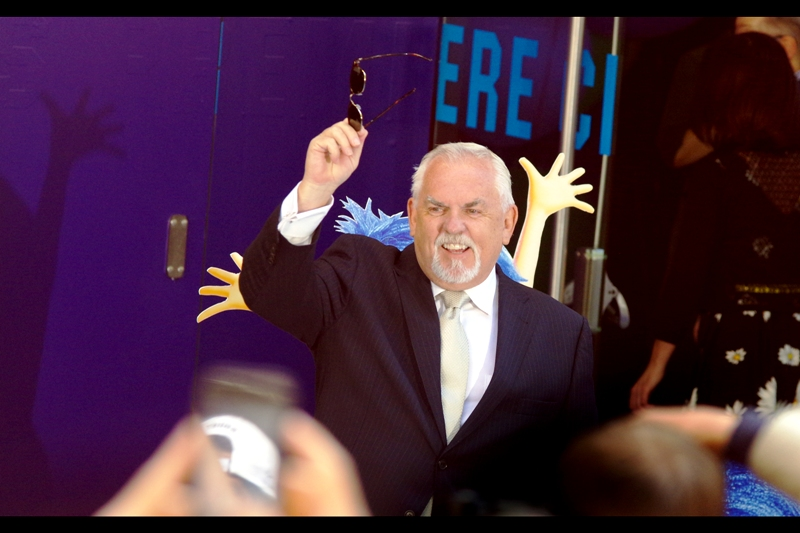 John Ratzenberger holds the rare (and very cool) distinction of having his voice featured in EVERY PIXAR MOVIE ever made. He's probably best known for being the voice of the piggybank Hamm in the Toy Story films.