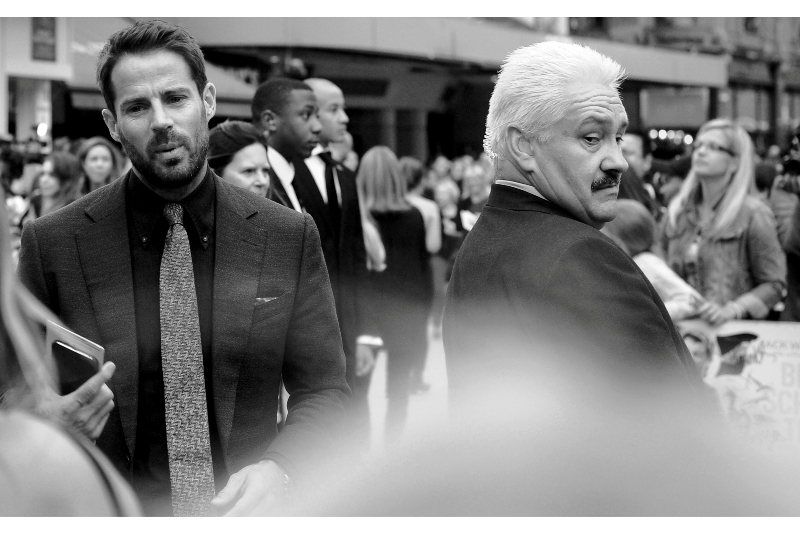 Jamie Redknapp is apparently a famous (current? former?) football player. Not sure what to make of that, but Paul The Security Chief seems impressed.