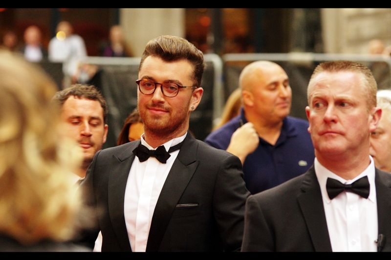 "Sam Smith won the 'insert name of corporate sponsor Solo Artist'   ""award"" on the night. Because while it's nice to get an award that represents the respect of your peers, when a vodka company says you're a decent singer it means MORE somehow."