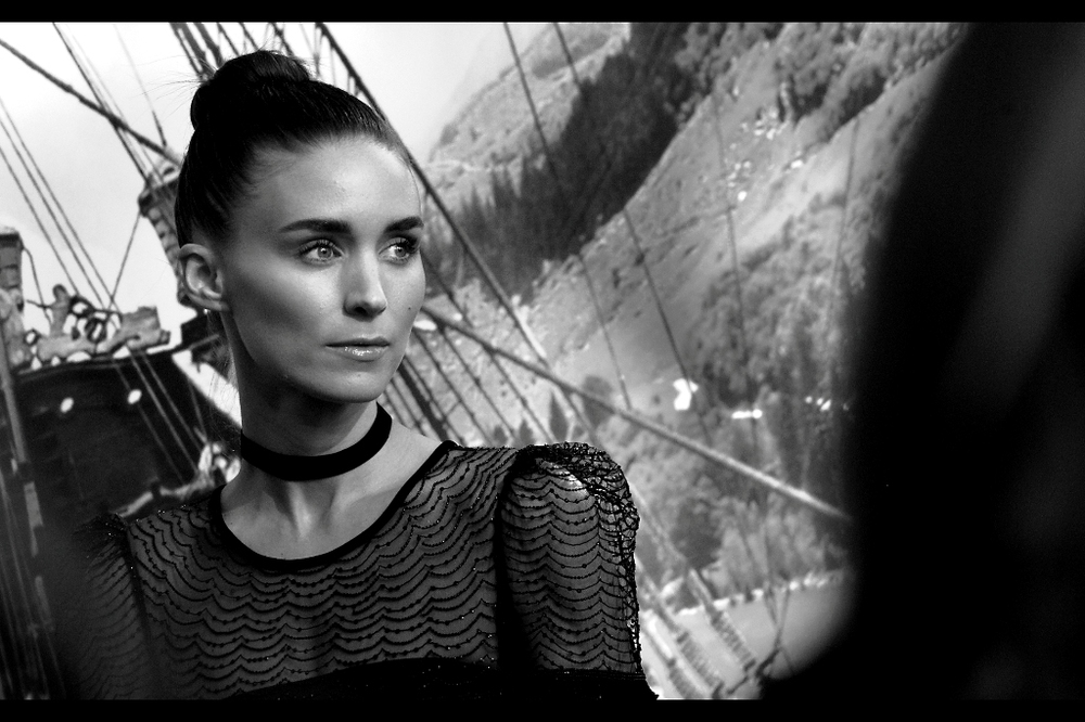 """I hope you guys caught my smile earlier, because I'm not doing it again"".  Rooney Mara was awesome in her small role in The Social Network, and even more awesome in her larger role as Lisbeth Salander in  David Fincher's ""The Girl With The Dragon Tattoo"" ... a movie whose sequel(s) apparently we've all been permanently robbed of for some unknown reason."